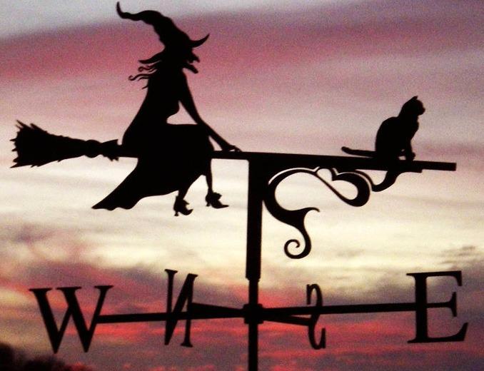 кошка с ведьмой