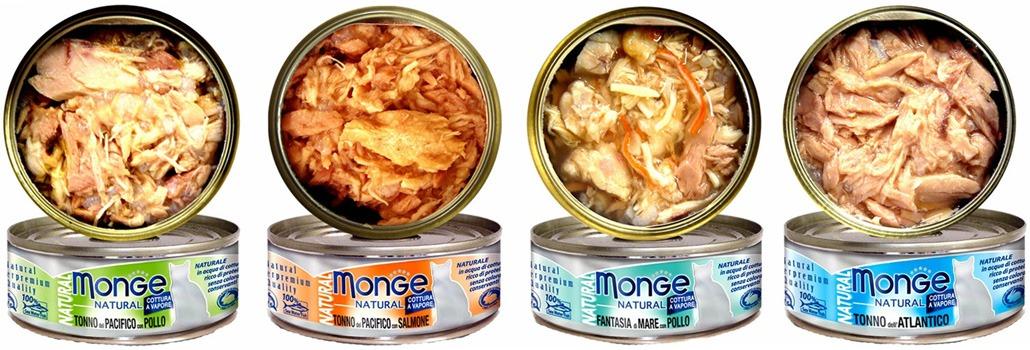 кошачьи консервы Monge