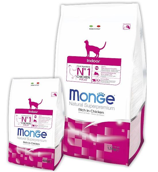 сухой корм для кошек Monge